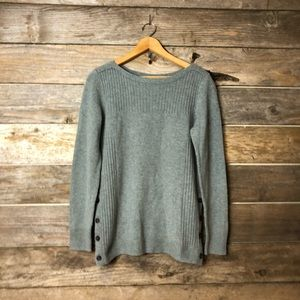 Madewell Size Medium Dusted blue Sweater
